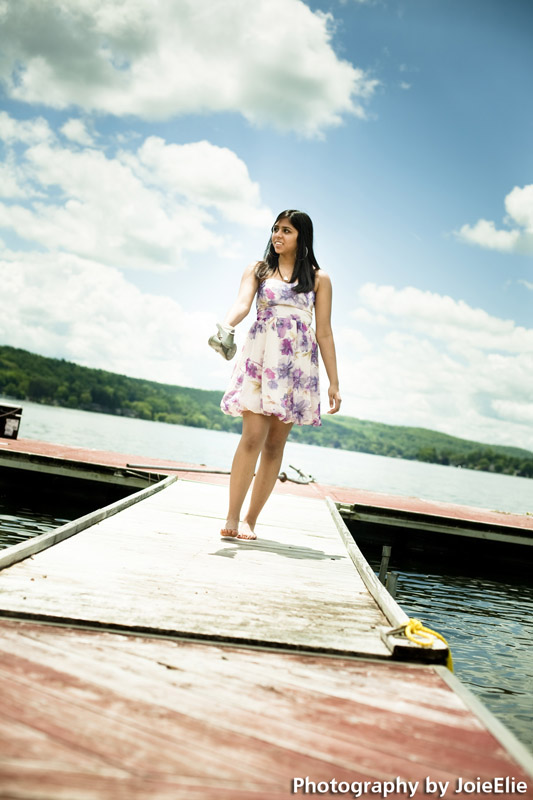 Juhie's Senior Portraits at Sparta NJ and Lake Mohawk