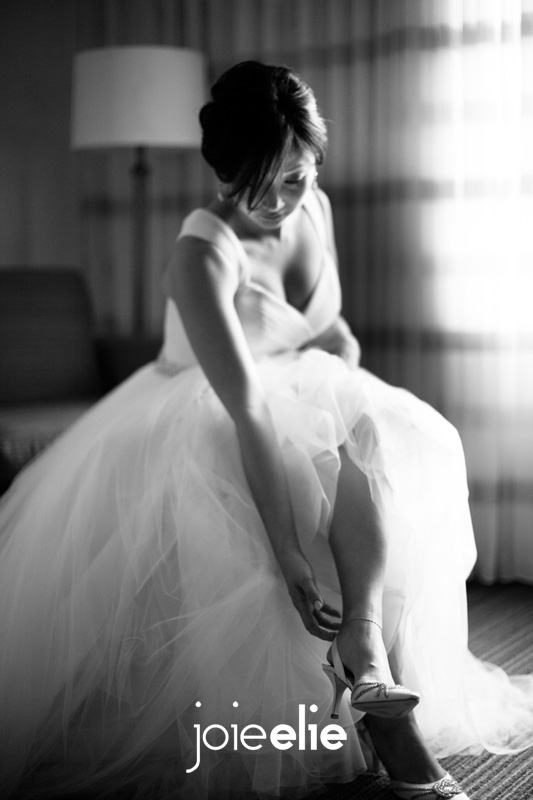 Wedding preparation at Courtyard Basking Ridge Marriott, Basking Ridge, NJ