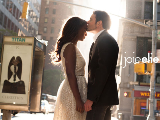 Candice and Mike at Time Square, NYC | Engagement Photo Session