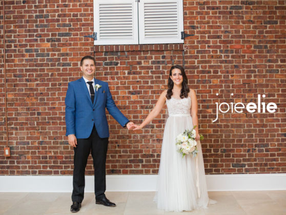 Krista and Thallys' wedding at Immaculate Heart of Mary Church and Modern on the Rails