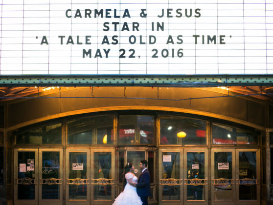 Carmela and Jesus at The Landmark Loew's Jersey Theatre, Jersey City, NJ