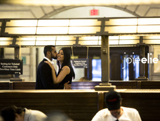 Heema and Neel engagement session at Hoboken, NJ